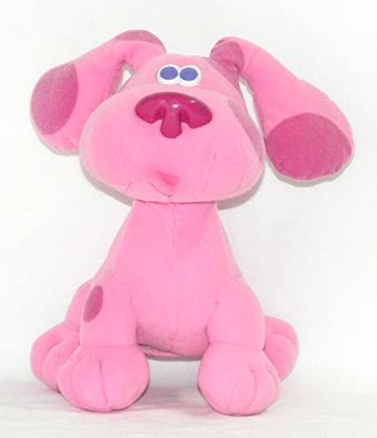 Amazoncom Nick Jr Blues Clues Bounce With Me Magenta Doll Toy