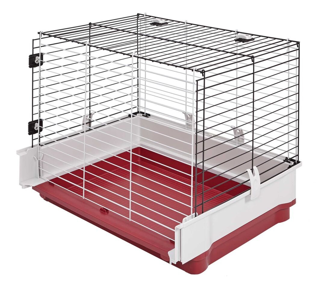 Amazon.com : Midwest Homes for Pets Wabbitat Deluxe Rabbit Home ...