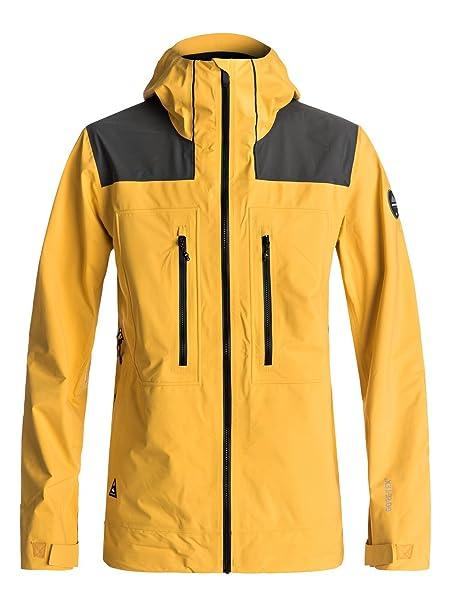 Quiksilver - Chaqueta para Nieve - Hombre - L - Amarillo: Quiksilver: Amazon.es: Ropa y accesorios