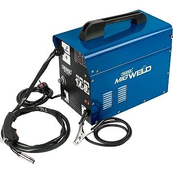 Draper 16057 gas / sin gas soldador MIG (100a): Amazon.es: Bricolaje y herramientas