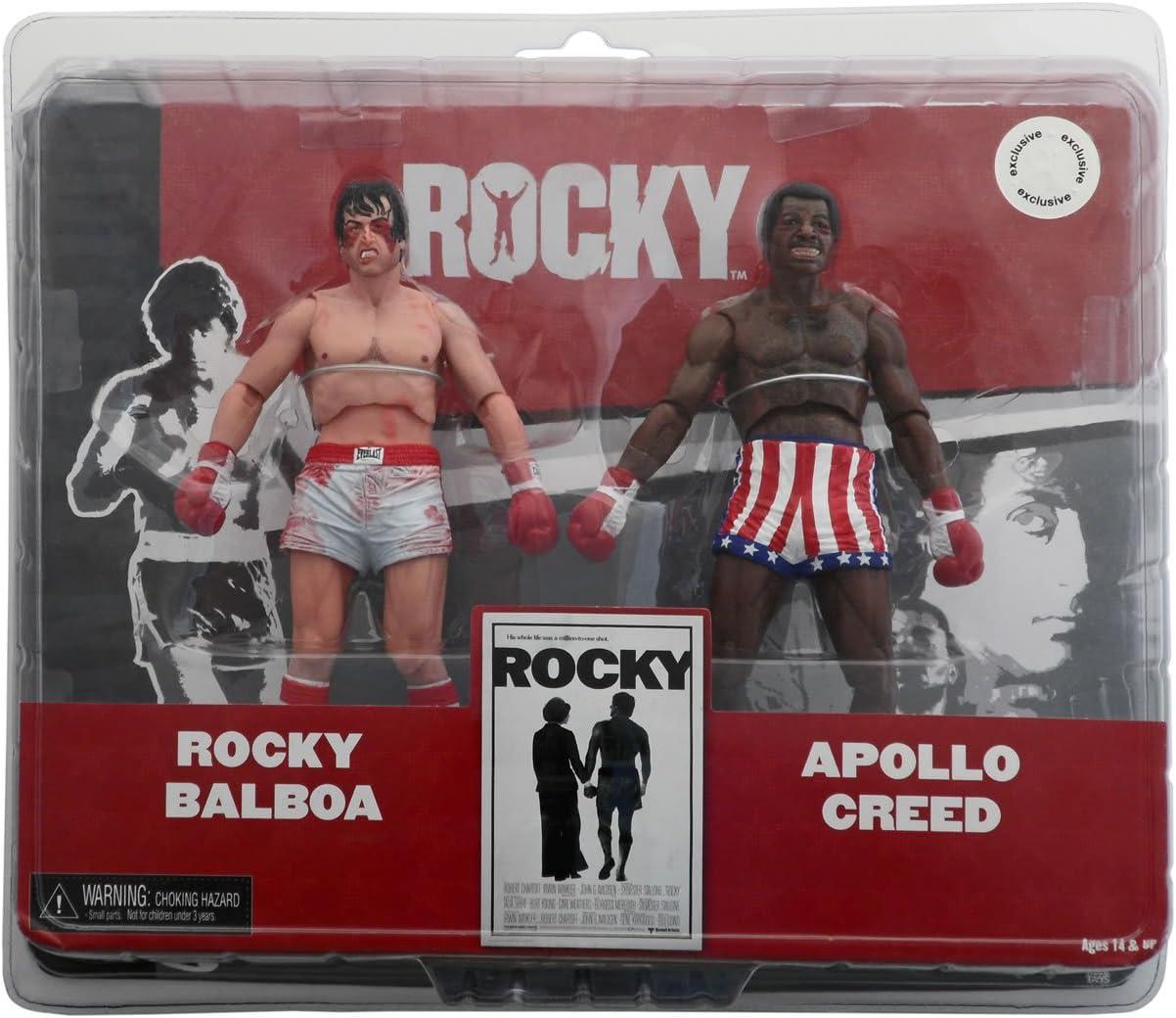 Neca - Pack Rocky 2 - Appollo & Rocky Damaged 18cm - 0634482530665: Amazon.es: Juguetes y juegos