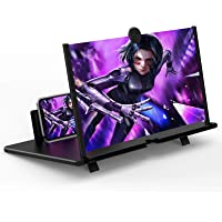 """14"""" Screen Magnifier for Cell Phone -3D HD Magnifing Projector Screen Enlarger for Movies, Videos and Gaming – Foldable…"""