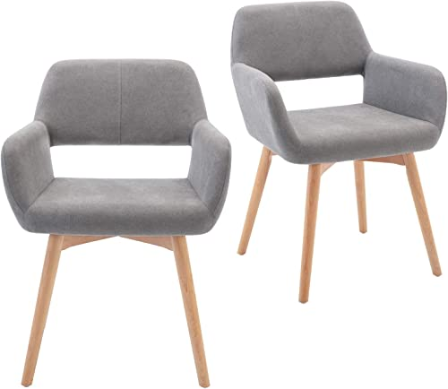 Lansen Furniture Modern Living Dining Room Accent Arm Chairs Club Guest