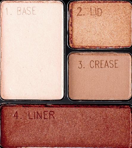 Maybelline Expert Wear Eyeshadow Quads, Autumn Coppers, 0.17 oz.