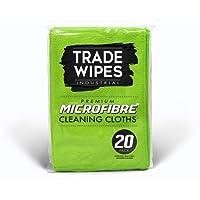Microfibre Premium Cleaning Cloths - 20 Pack - Large 40cm X 30cm - Microfiber Cloths: Household, Commercial, Office, Auto