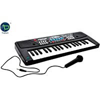 Toykart Toykart Piano Keyboard with DC Power Option,Record,Play and Mic for kids