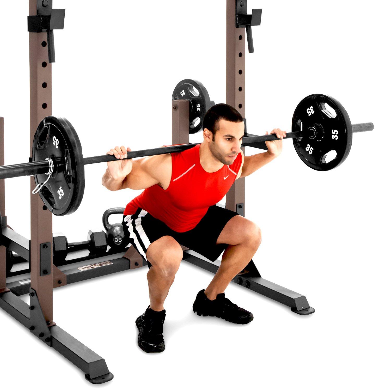 SteelBody stb-98010 Power Rack con Pull-up Bar: Amazon.es: Deportes y aire libre
