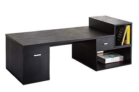 Perfect IoHOMES Nola 4 Piece Modular Tv Cabinet, Black