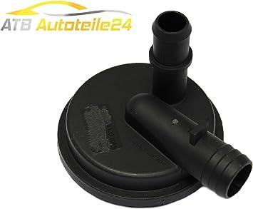 Divisore per olio con valvola di regolazione della pressione e valvola di sfiato Touareg T5 V 070129101A
