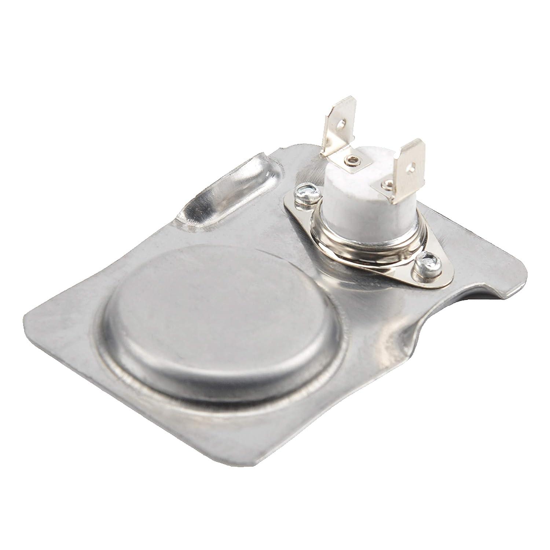 PayandPack durablow Cerámica termostato Interruptor magnético de Acero Inoxidable para Chimenea Estufa Kit de Ventilador Soplador Control Térmico: ...