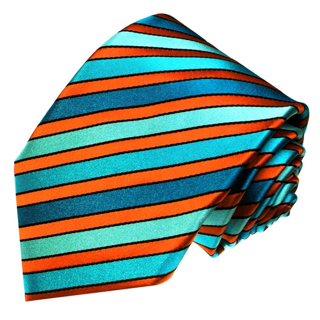 LORENZO CANA - Marcas corbata de seda 100% - Corbata turquesa ...