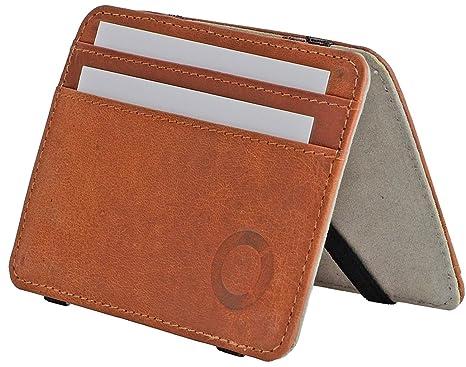 b38554e09c4bbc FEYNST Leder Herren Geldbörse Portemonnaie Brieftasche Geldbeutel  Kreditkartenetui Herrengeldbörse Ledergeldbörse