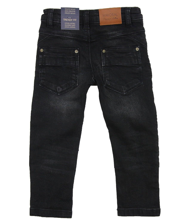 Sizes 2-9 Mayoral Boys Motorcycle Style Denim Pants