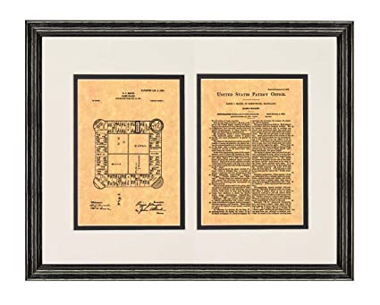 Landlord/'s Game Patent Print Old Look