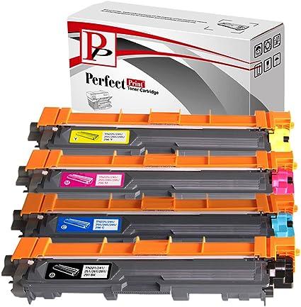 PerfectPrint - Compatible TN241 TN245 cartuchos de tóner láser ...