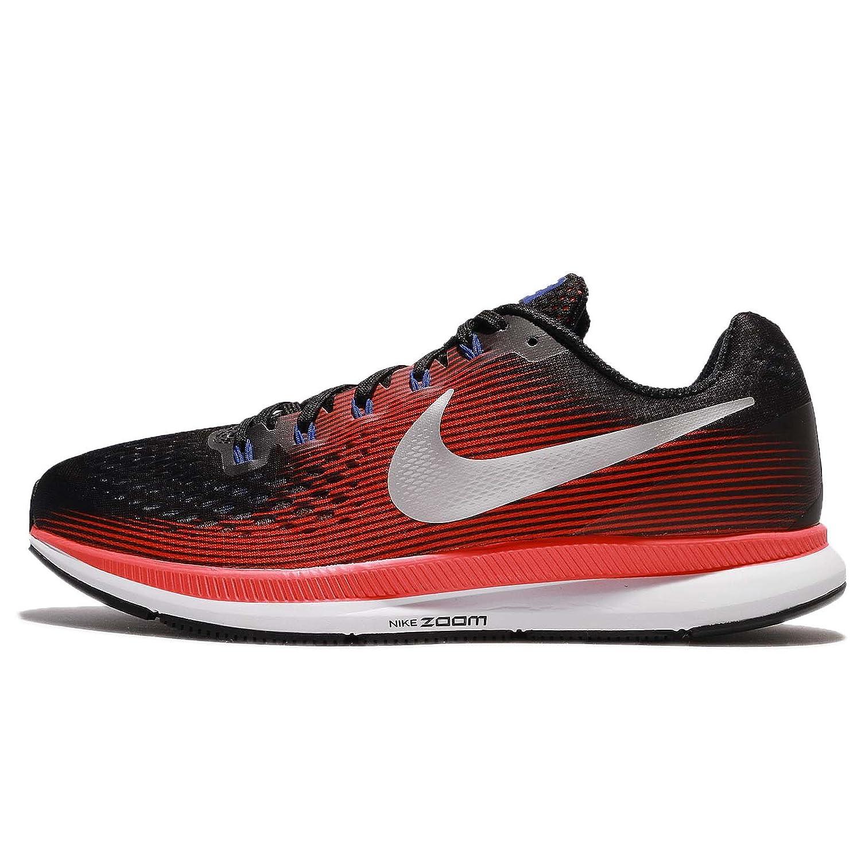 pretty nice 4a486 c9ec6 Amazon.com   Nike Men s Air Zoom Pegasus 34 Running Shoe Black Metallic  Silver-Bright Crimson 12.5   Road Running