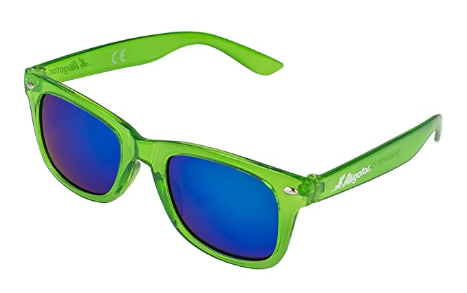 Alligator Gafas DE Sol NIÑO Sunrise Green 12-13cm Color ...