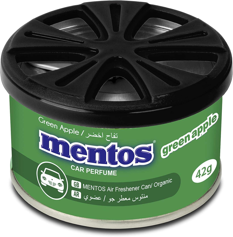 Mentos Mn T601 Lufterfrischer Dose Green Apple 60g Auto