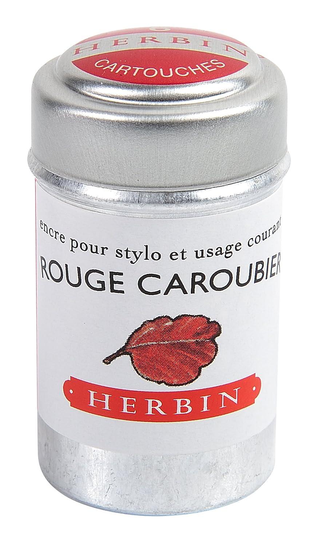 Herbin 20122T Inchiostro, Rosso, 4.2 x 2.3 x 2.3 cm