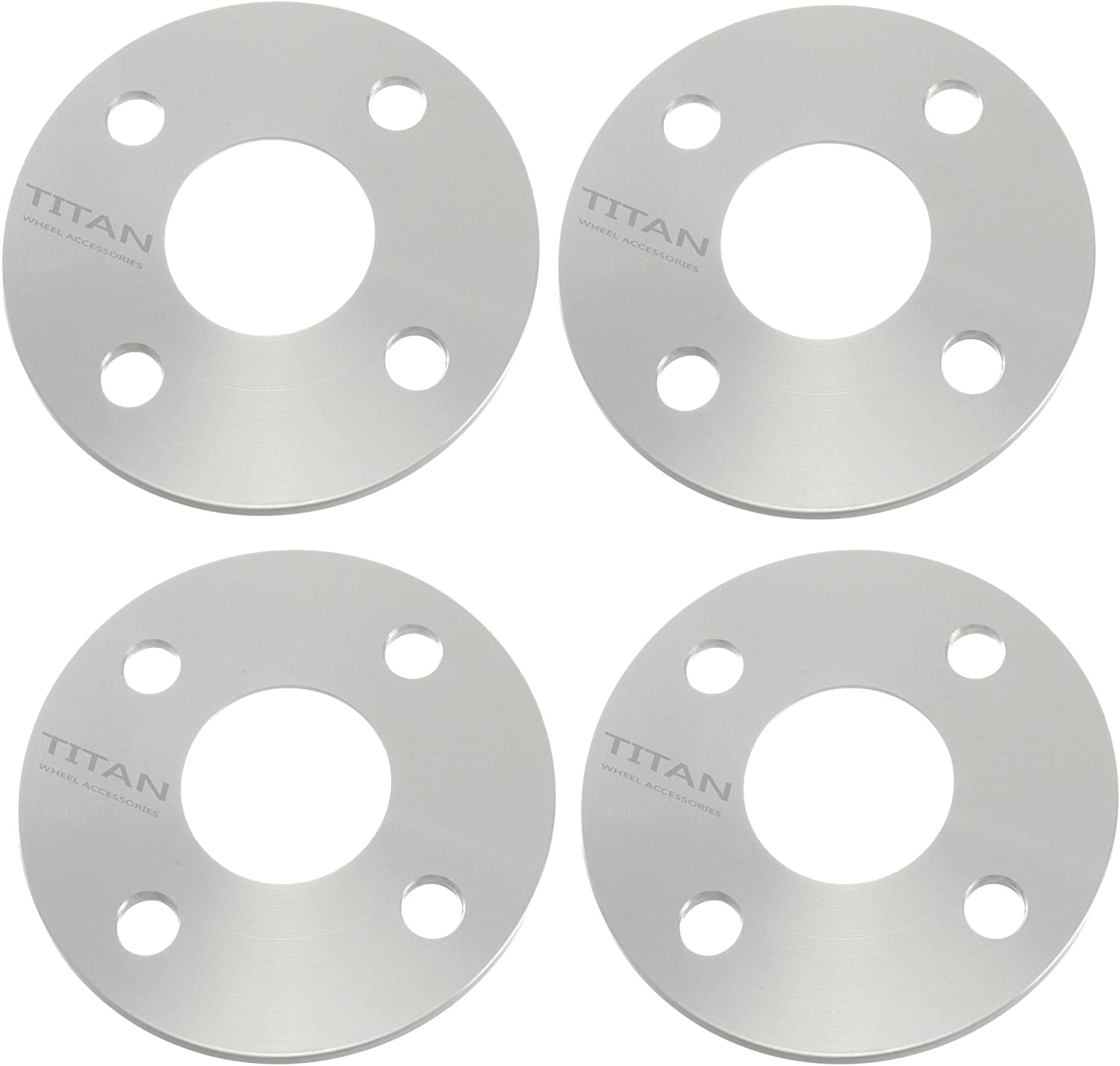 5mm 4x100 hub centric wheel spacers 57.1