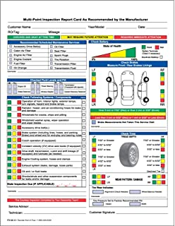 Amazon.com : Adams Garage Repair Order Forms, 8.5 x 11 Inch, 3 ...