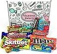 Confezione Piccola di Snack Americani | Caramelle e Cioccolato per Idea Regalo di Natale e Compleanno | Vasta Gamma tra cui Jolly Rancher M&Ms Reeses Nerds | 11 Pezzi in Confezione Vintage di Cartone