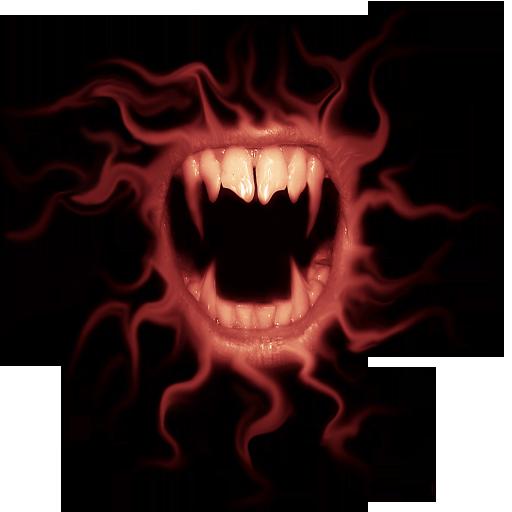 (Vampire Clock Widget)