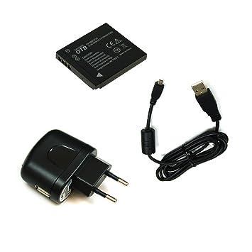 BG de akku24 Cargador, batería y cable de carga, cable de ...