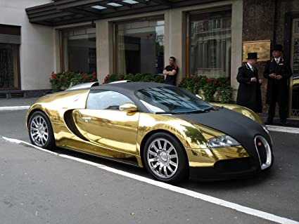 Amazon Com Gifts Delight Laminated 32x24 Poster Sports Car Gold