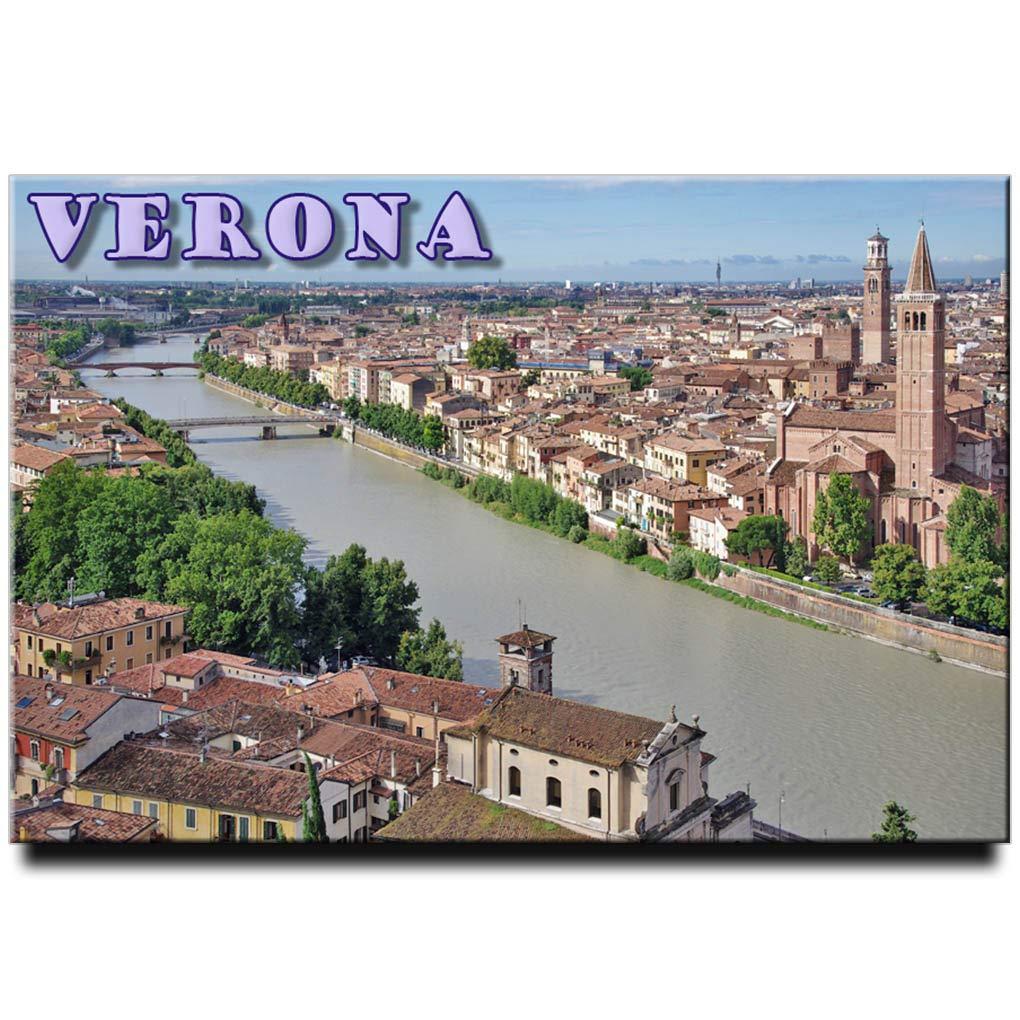 Amazon.com: Verona - Imán para nevera, diseño de Italia ...