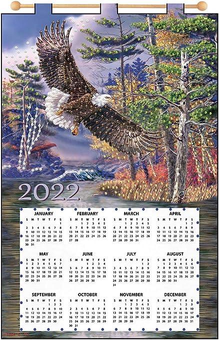 Maxim Calendar 2022.Amazon Com Eagle 2022 Felt Calendar