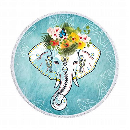 Mkulxina Estera Redonda de la Yoga del Hippie de la ...