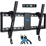 Mounting Dream UL Listed TV Mount for Most 37-70 Inches TVs, Universal Tilt TV Wall Mount Fits 16', 18', 24' Studs with…