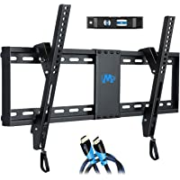 "Mounting Dream UL Listed TV Mount for Most 37-70 Inches TVs, Universal Tilt TV Wall Mount Fits 16"", 18"", 24"" Studs with…"