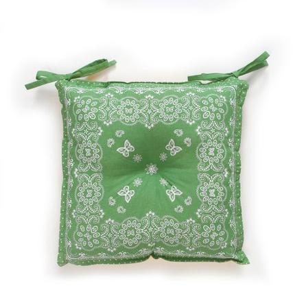 The Pioneer Woman Bandana Reversible Chairpad, Green - Walmart.com