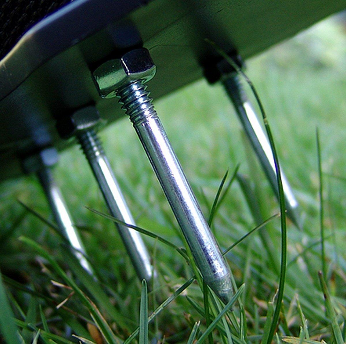 Greenkey Sandales pour a/érer la pelouse//scarificateur