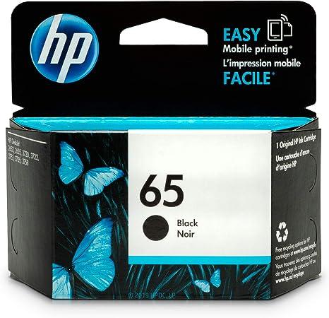 Amazon.com: Cartucho HP 65 Original Negro (N9K02AN).: Office ...