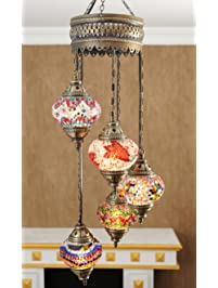 Popular Mosaic Lamps Turkish Lamp Moroccan Lamps Chandeliers Pendant Lights Hanging Lamps