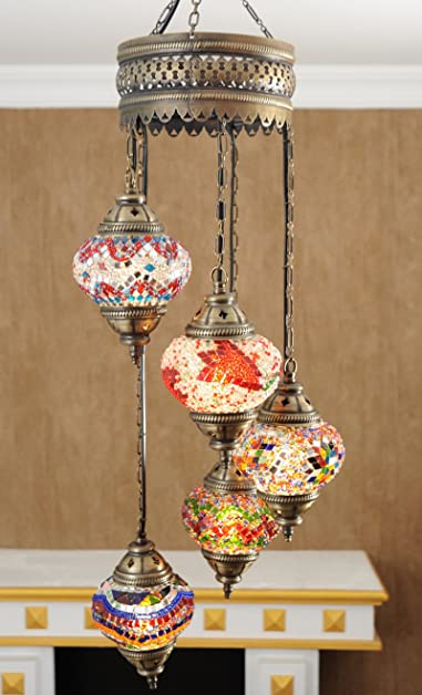 Mosaic Lamps, Turkish Lamp, Moroccan Lamps, Chandeliers, Pendant ...