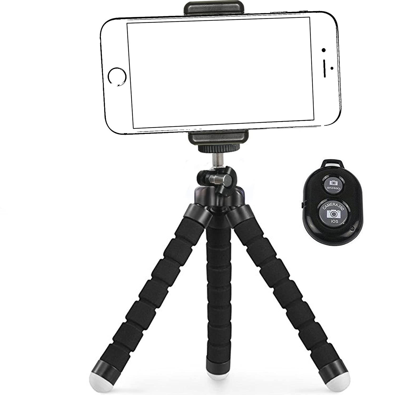 Details about IPhone Tripod,By Ailun,Tripod mount/stand,Phone  Holder,Small\u0026Light,for