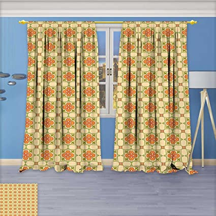 Amazon.com: Rustic Home Decor Curtains,Collage of with ...