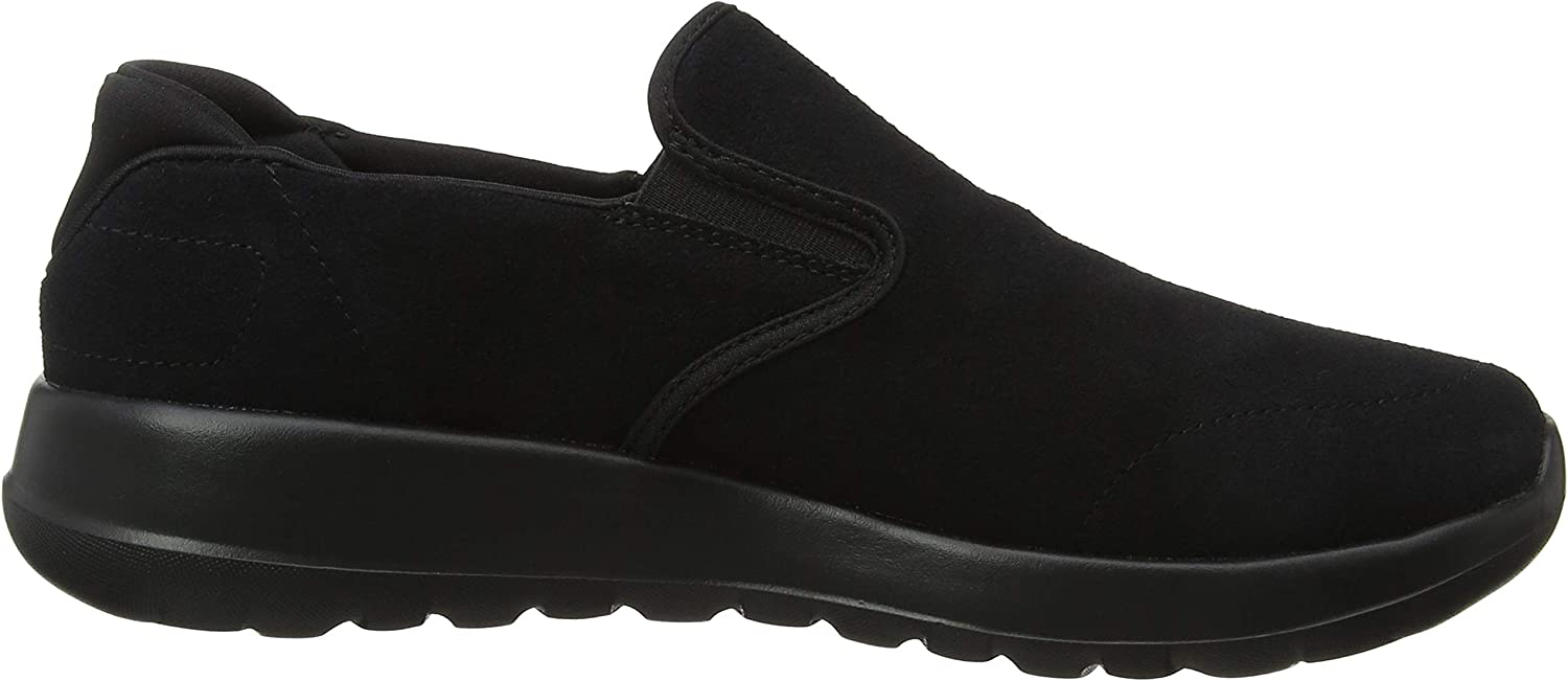 Skechers Go Walk Max-Predict, Baskets Enfiler Homme Noir Black Bbk