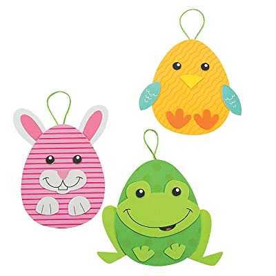 Easter Egg Character Ornaments Craft Kit - Crafts for Kids and Fun Home Activities: Toys & Games