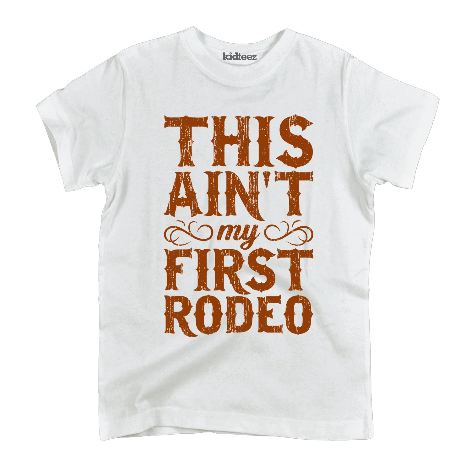 Instant Message This Aint My First Rodeo-Toddler Short Sleeve Tee Air Waves
