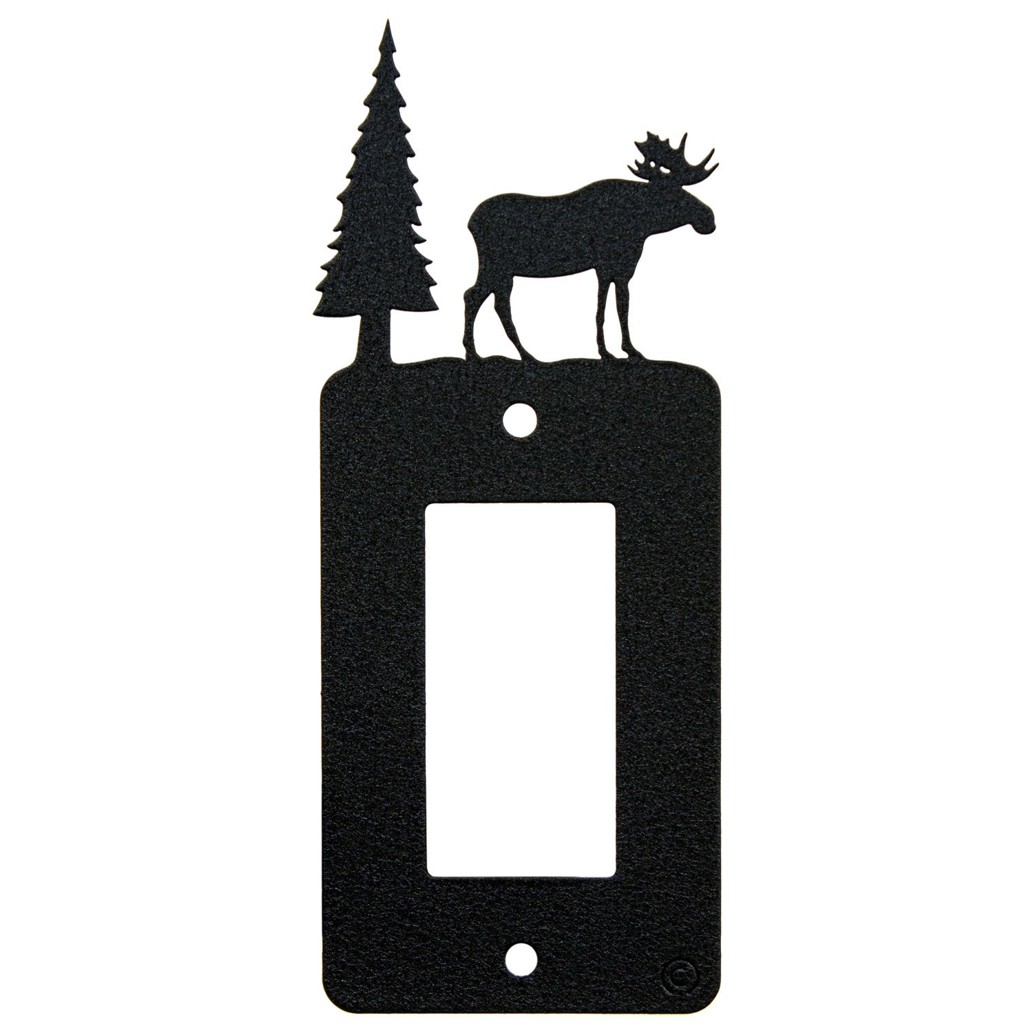Innovative Fabricators, Inc. Moose Rocker Light Switch - GFCI Power Outlet - Plate-Cover