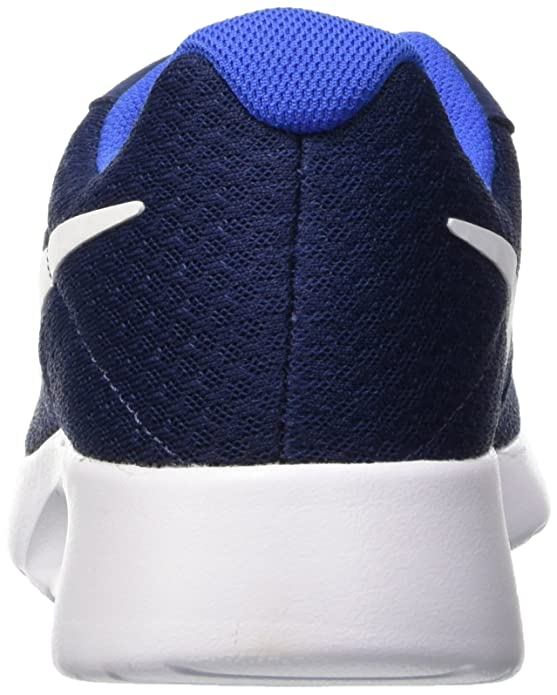 Amazon.com | Nike Mens Tanjun Running Sneaker (8.5 M US, Midnight Navy/White Game Royal) | Fashion Sneakers