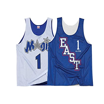 58698ffa Mitchell & Ness Tracy McGrady Orlando Magic Men's 2004 All Star Reversible  Practice Tank White/