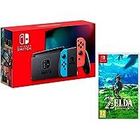 Nintendo Switch Oyun Konsolu, Kırmızı/Mavi - CD MEDIA GARANTiLi