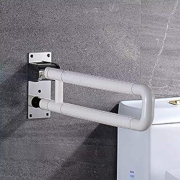 Amazon.com: Barra de seguridad para inodoro, plegable ...