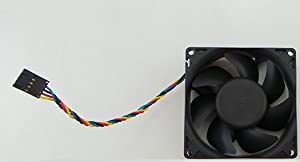 Genuine Dell JD850 Case Fan Assembly For Precision 490 and PowerEdge SC1430 SMT Small Mini-Tower Systems 5-Pin Connector Compatible Part Numbers: JD850 (Assembly), KG885, NC466 (Fan)